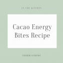Easy Cacao Energy Bites Recipe