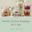 Healthy Kitchen List
