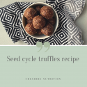 Seed Cycle Truffles Recipe