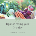 Tips for Eating Your 5-A-Day